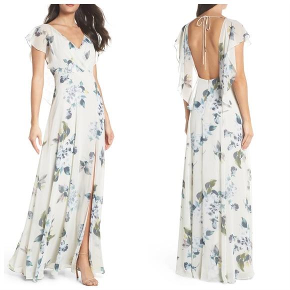 9986b0e5105 Jenny Yoo Alanna Ohana Print dress